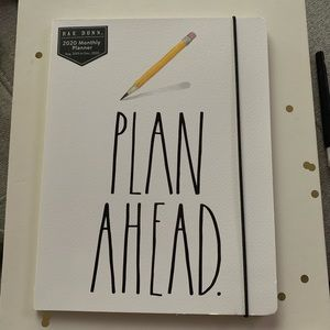 Rae Dunn PLAN AHEAD Paperback 17 Month Planner